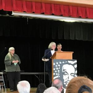 Pat Rathmann, Community Award winner.
