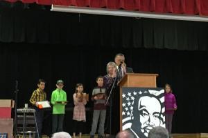 Arts and Essay Award recipients.